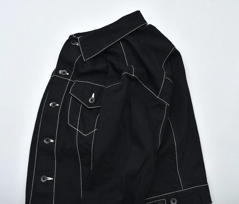 ESSAY「J-2 - SHIRT G-JACKET / black」