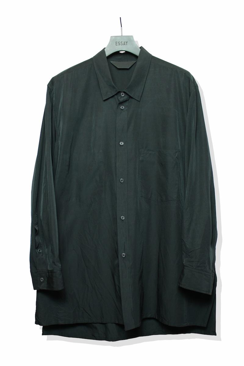ESSAY「SH-1 - PARMANENTAL SHIRT / black」