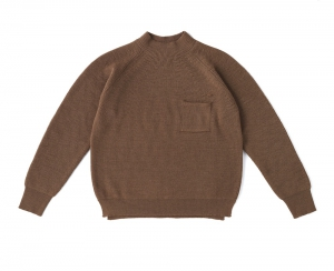 OLD JOE BRAND.「MOCK NECK POCKET SWEATER / DUNE」