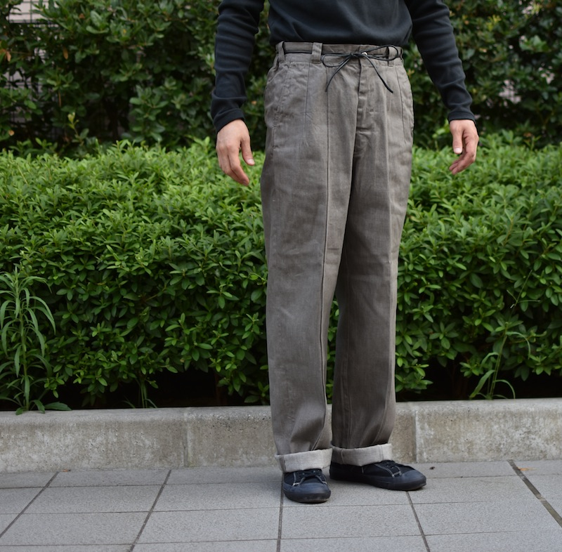 OLD JOE BRAND.「FRONT TUCK ARMY TROUSER」