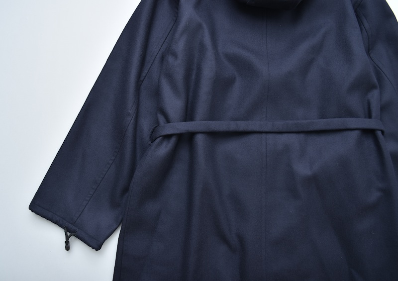 AURALEE「 LIGHT MELTON LONG HOODED COAT 」