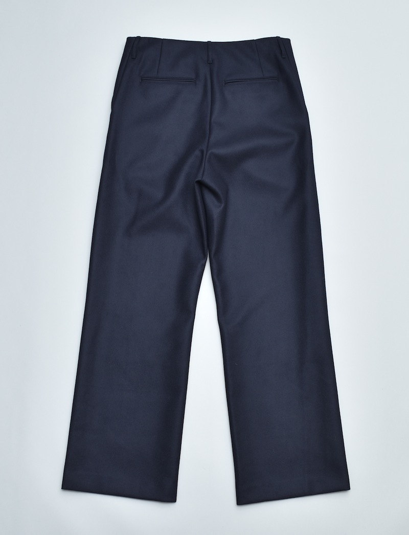 AURALEE「 LIGHT MELTON WIDE SLACKS 」