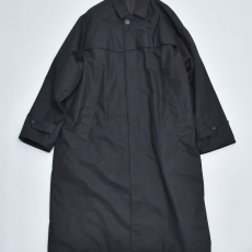 AURALEE 「 HIGH COUNT CLOTH BATTING LONG COAT / BLACK 」
