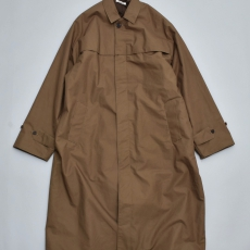 AURALEE 「 HIGH COUNT CLOTH BATTING LONG COAT / OLIVE 」