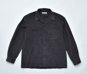 OLD JOE BRAND.「OPENED COLLAR SHIRTS /BLACK」