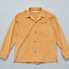 OLD JOE BRAND.「OPENED COLLAR SHIRTS / MANDARINE」