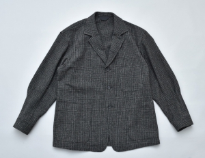 ESSAY「 J-1 - OVER JACKET / gren check  」
