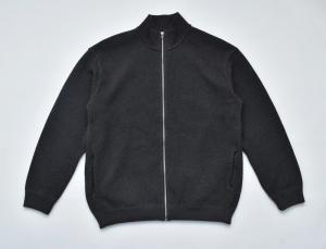 crepuscule「 Moss Stitch Zip Cardigan / C.Gray 」