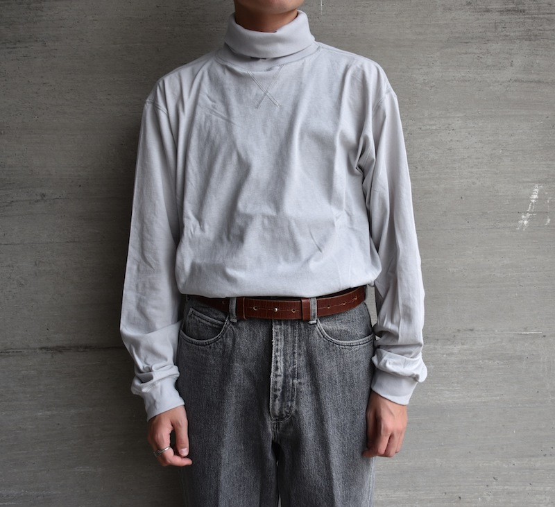 ESSAY「TS-2 - LV HIGHNECK TEE / light grey」