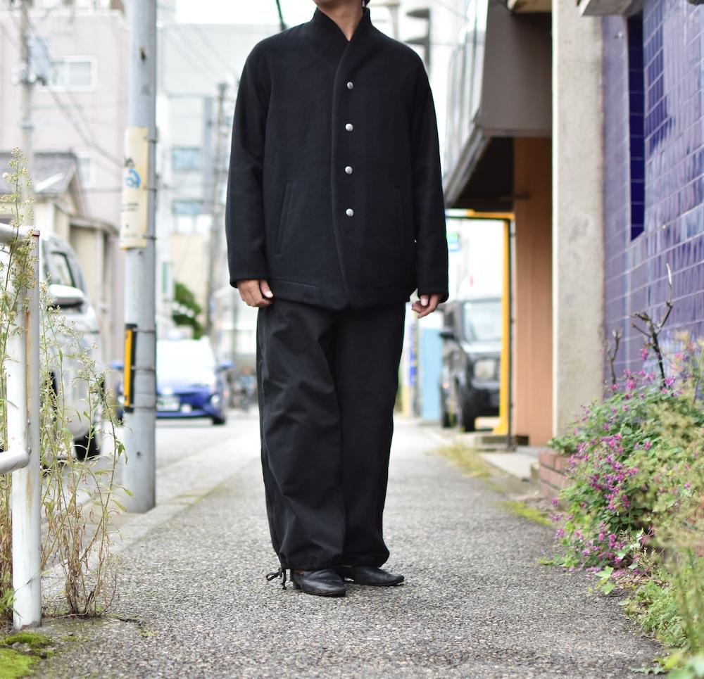the Sakaki「 stadium jumper / Black 」