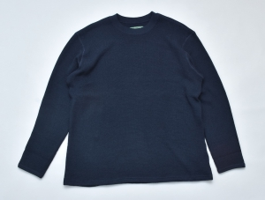 BROWN by 2-tacs「 BAA #3 CREW L/S:NAVY 」