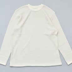 BROWN by 2-tacs「 BAA #3 CREW L/S:OFF WHITE 」