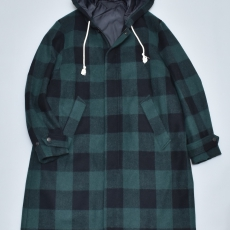 ESSAY 「 C-2 - LIVRE COAT / block check 」