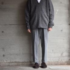 crepuscule 「 Whole Garment V/N Zip Cardigan :Gray 」