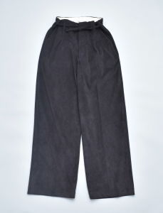 OLD JOE BRAND.× SISTER「STRING WAIST ARTIFICIAL LEATHER TROUSER / BLACK」