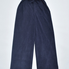 OLD JOE BRAND.× SISTER「STRING WAIST ARTIFICIAL LEATHER TROUSER / NAVY」