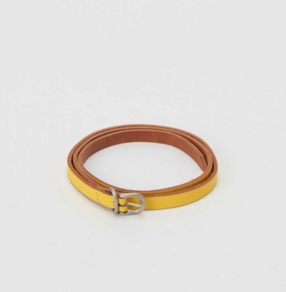 Hender Scheme「tail belt / yellow 」
