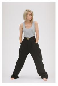 gourmet jeans「 TYPE 01 - BAGGY / BLACK 」