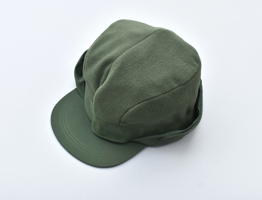 COMFORTABLE REASON 「 Goldmans Ear flap cap / GREEN」