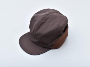 COMFORTABLE REASON 「 Goldmans Ear flap cap / BROWN 」