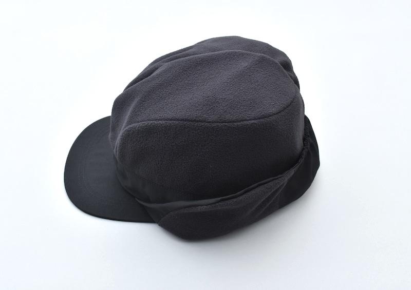 COMFORTABLE REASON 「 Goldmans Ear flap cap / BLACK」