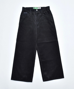 gourmet jeans「 TYPE 01 - BAGGY / BLACK 」