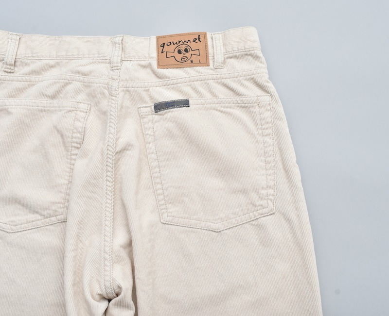 gourmet jeans「 TYPE 01 - LOOSE / IVORY 」