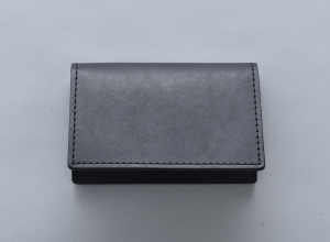 Hender Scheme 「 folded card case / black 」--04