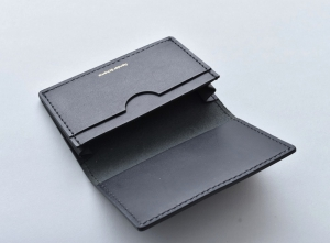 Hender Scheme 「 folded card case / black 」--02