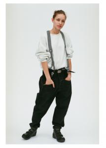 gourmet jeans「 TYPE 02 - X-ZIP / BLACK 」