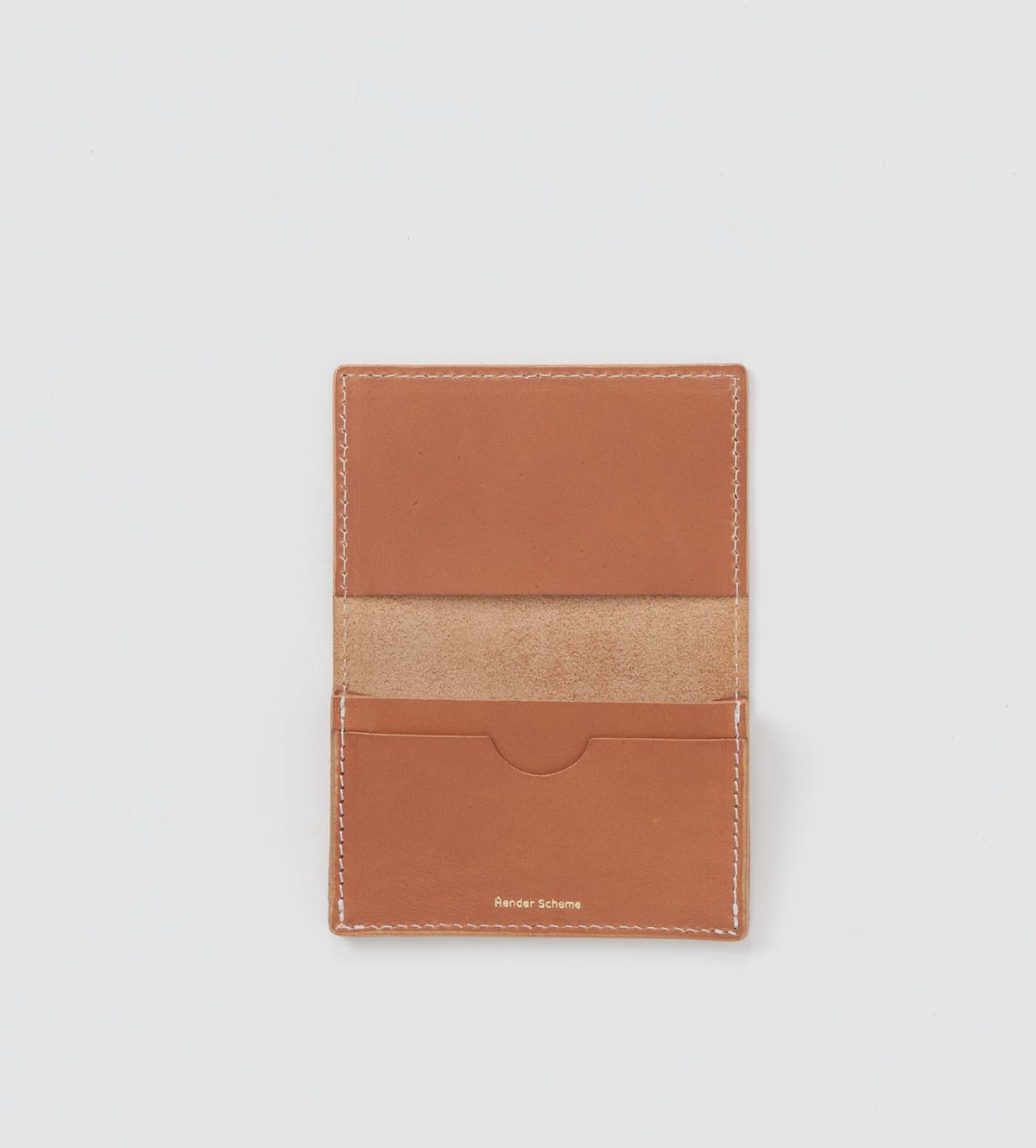 Hender Scheme 「 folded card case / natural 」