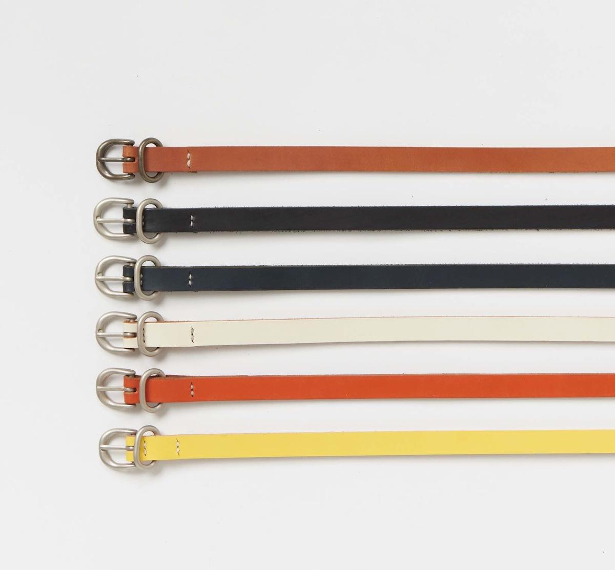 Hender Scheme「tail belt / navy 」