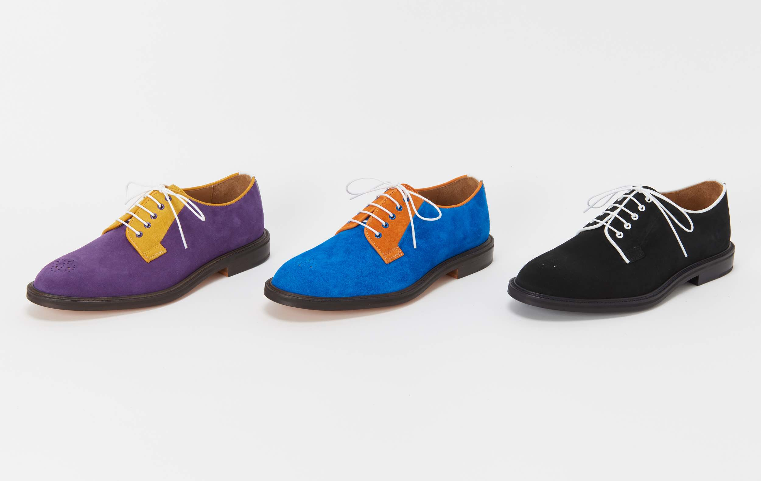 Hender Scheme「typical color exception gibson  / #01 purple×yellow」