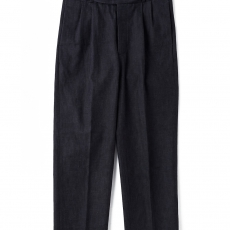 OLD JOE BRAND.「SIDE BUCKLE GRUKHA TROUSER / BLACK INDIGO」