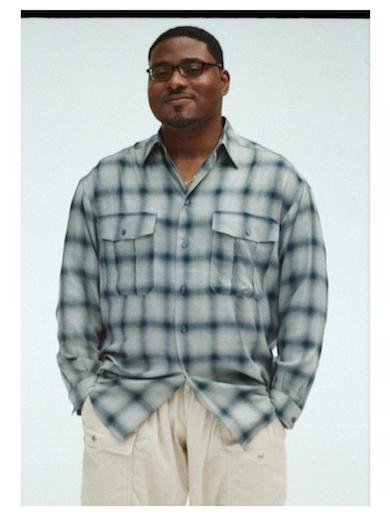 gourmet jeans 「RAYON SHIRT 」