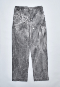 FRANK LEDER 「INK DYED VINTAGE BEDSHEET DRAWSTRINGS PANTS」
