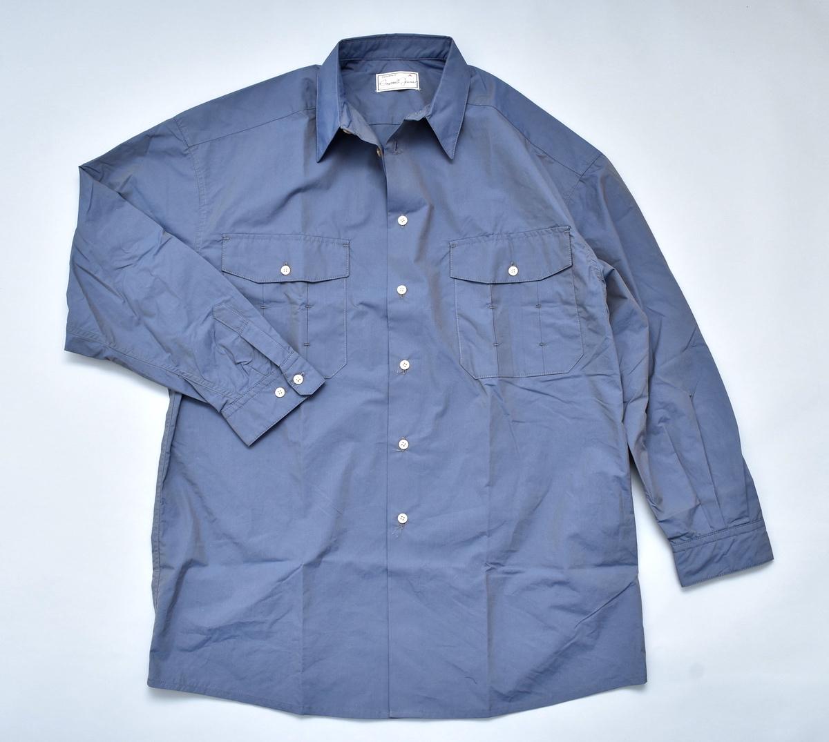 gourmet jeans 「 TYPEWRITER SHIRT / 青タマムシ」