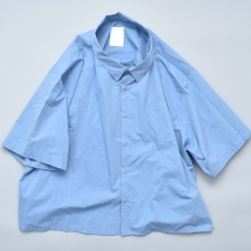 WHOWHAT  「 5X SHIRT〈SHORT× SHORT〉/ SAX BLUE 」