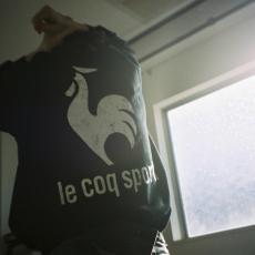 le coq sportif ×  ESSAY「 L/S TEE / black」