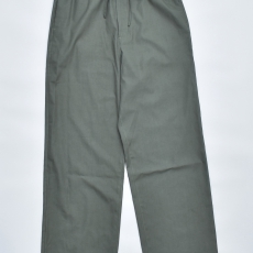 AURALEE「 WASHED FINX TWILL EASY WIDE PANTS / DARK GREEN 」