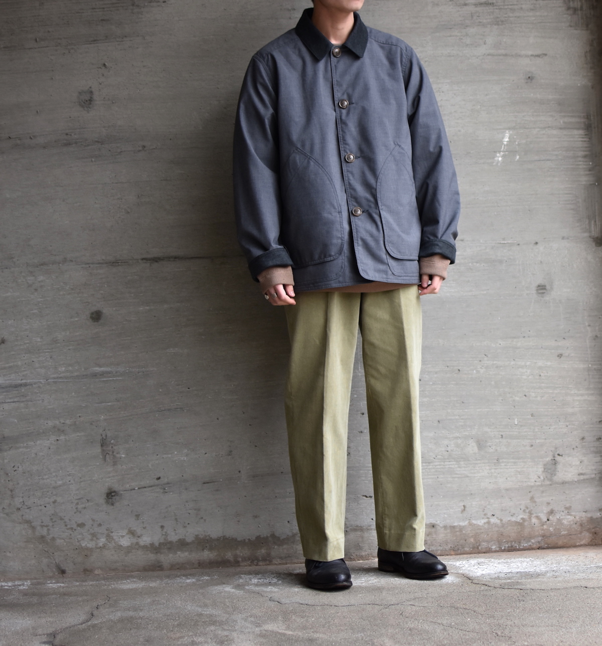 BROWN by 2-tacs 「 RALLY  / CHARCOAL 」