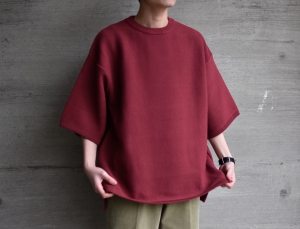 crepuscule「 Tuck Knit / Red 」