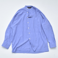 ESSAY「 SH-3 : DOLMAN SLANT SHIRT / purple grey 」