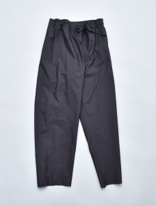 AURALEE「SELVEDGE WEATHER CLOTH EASY PANTS / INK BLACK」