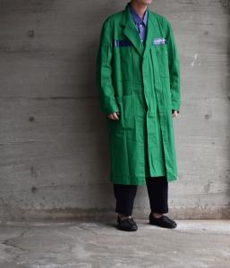 ESSAY 「 C-1 : ATELIER COAT / green 」