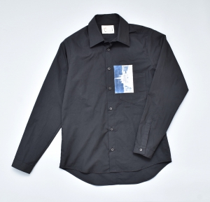 FRANK LEDER 「TRIPLE WASHED THIN COTTON SHIRT」