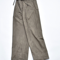 OLD JOE BRAND.× SISTER「STRING WAIST ARTIFICIAL LEATHER WORK TROUSER 」