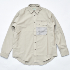 BROWN by 2-tacs「 OUTER SHIRTS 」