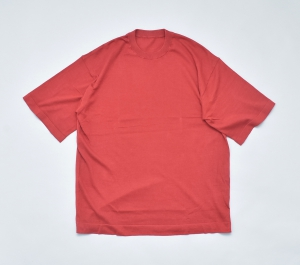 crepuscule「 knit tee S/S / Red 」