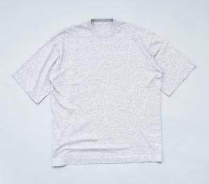 crepuscule「 knit tee S/S / L.Gray 」